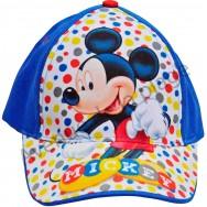 Casquette Mickey à pois multicolores