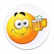 Magnet Émoticône bière