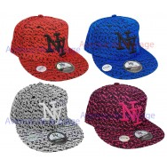 Casquette NY snapback style chaussure de sport