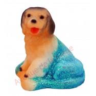 Statuette météo chien assis