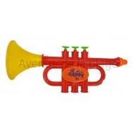 Trompette en plastique pour enfant Happy 27 cm