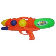 Pistolet à eau 51 cm orange grand modèle.