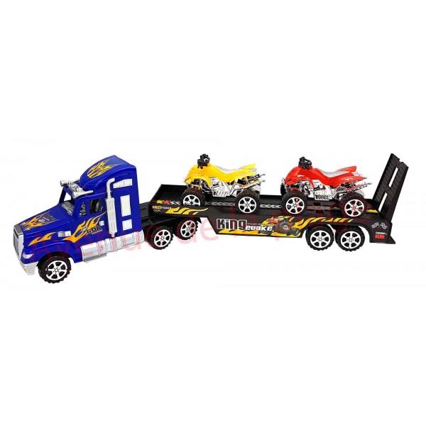 camion transporteur de quads jouet pour enfant pas cher. Black Bedroom Furniture Sets. Home Design Ideas