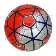 Ballon de football Cooper rouge et gris