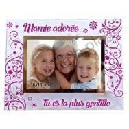 """Cadre photo """"Mamie adorée"""""""