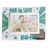 "Cadre photo ""Super Beau-Papa"""