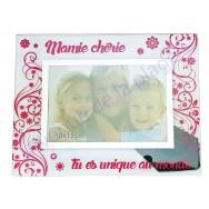 "Cadre photo ""Mamie Chérie"""
