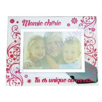 """Cadre photo """"Mamie Chérie - La plus gentille des Mamies"""""""