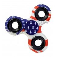 Fidget Hand Spinner drapeau Américain