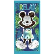 Serviette de plage Mickey relax