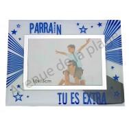 """Cadre photo """"Parrain tu es extra"""""""