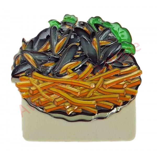 magnet moules frites aimant pour r frig rateur pas cher. Black Bedroom Furniture Sets. Home Design Ideas