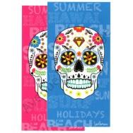 Serviette de plage Tête de mort Mexicaine