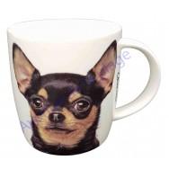 Mug chien Chihuahua tricolore