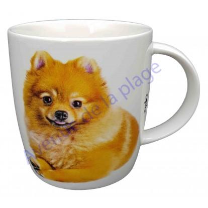 Mug chien Spitz