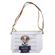Sac à main pochette Bad dog Jack Russel