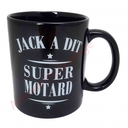 mug jack a dit super motard id e cadeau humoristique pas cher. Black Bedroom Furniture Sets. Home Design Ideas