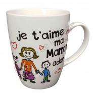 Mug famille Maman adorée