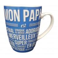 "Mug cadeau ""Mon Papa est..."""