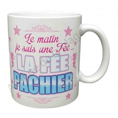 """Mug cadeau """"La Fée Pachier"""""""