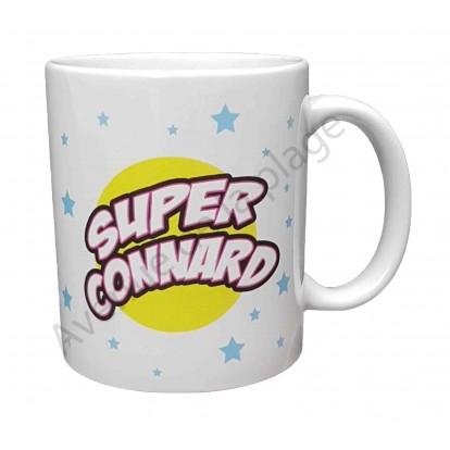 """Mug cadeau """"Super Connard"""""""