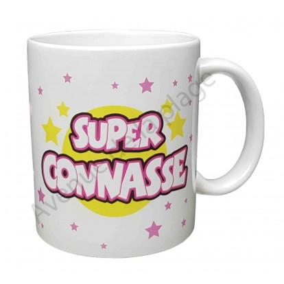 "Mug cadeau ""Super Connasse"""