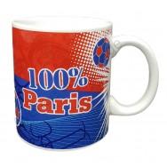 """Mug cadeau """"100% Paris"""""""