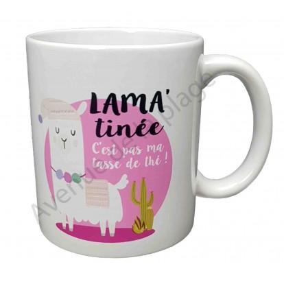 """Mug cadeau """"Lama'Tinée"""""""