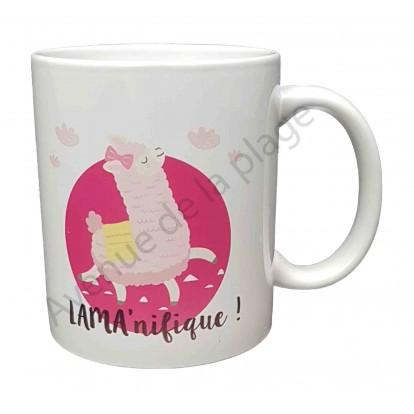 """Mug cadeau """"Lama'Nifique !"""""""