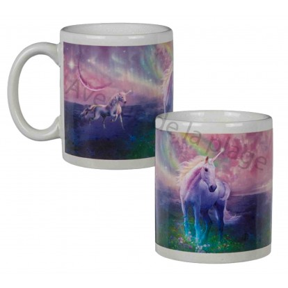 mug thermosensible licorne tasse licorne discount. Black Bedroom Furniture Sets. Home Design Ideas