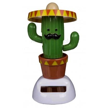 figurine cactus solaire pas cher objet cactus original. Black Bedroom Furniture Sets. Home Design Ideas