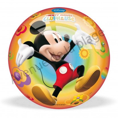 Ballon football la maison de mickey 23 cm ballon pas cher for Barbie vie dans la maison de reve