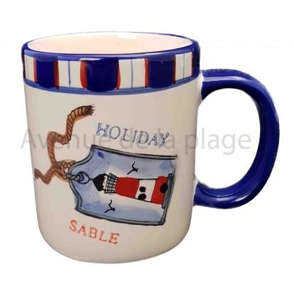 Mug holiday esprit marin