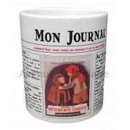 Mug Mon journal de naissance 1942
