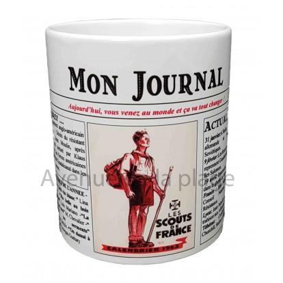 Mug Mon journal de naissance 1943