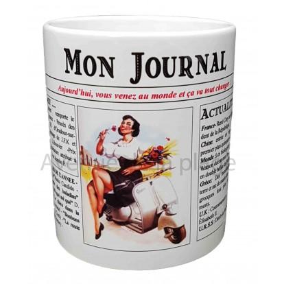 Mug Mon journal de naissance 1953