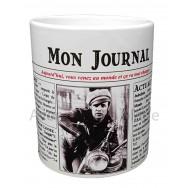 Mug Mon journal de naissance 1954