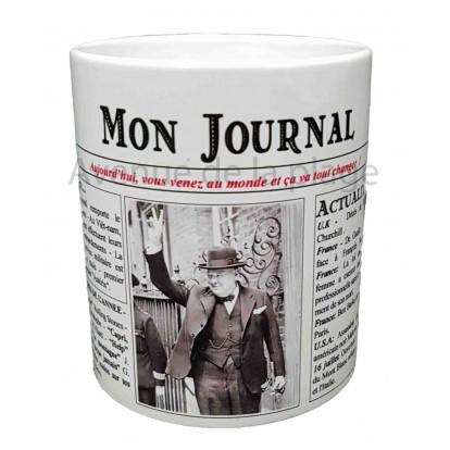 Mug Mon journal de naissance 1965