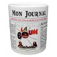 Mug Mon journal de naissance 1980