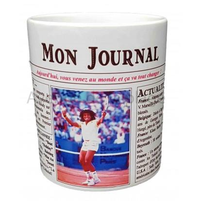 Mug Mon journal de naissance 1983