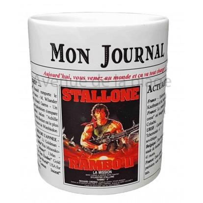 Mug Mon journal de naissance 1985