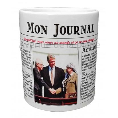 Mug Mon journal de naissance 1993