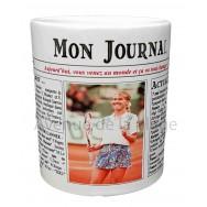 Mug Mon journal de naissance 1995