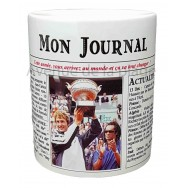 Mug Mon journal de naissance 2003