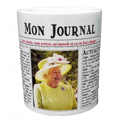 Mug Mon journal de naissance 2006