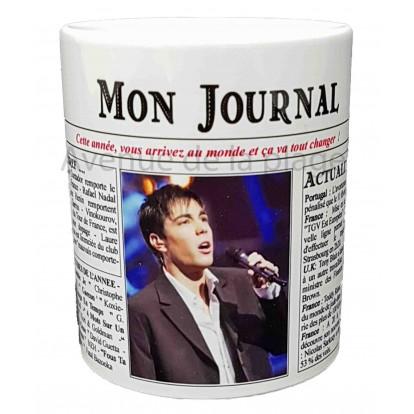Mug Mon journal de naissance 2007