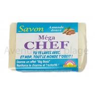 Savon humoristique Méga Chef