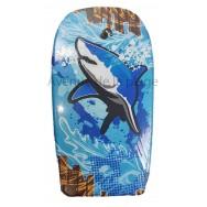 Bodyboard Requin dans les vagues