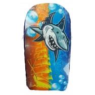 Bodyboard Requin et voilier