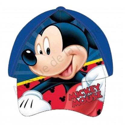 Casquette Mickey Mouse bleue